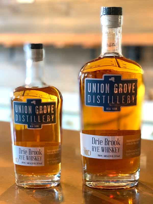 Drie Brook Rye Whiskey